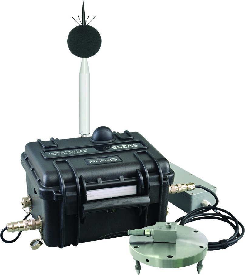 Noise and vibration logger